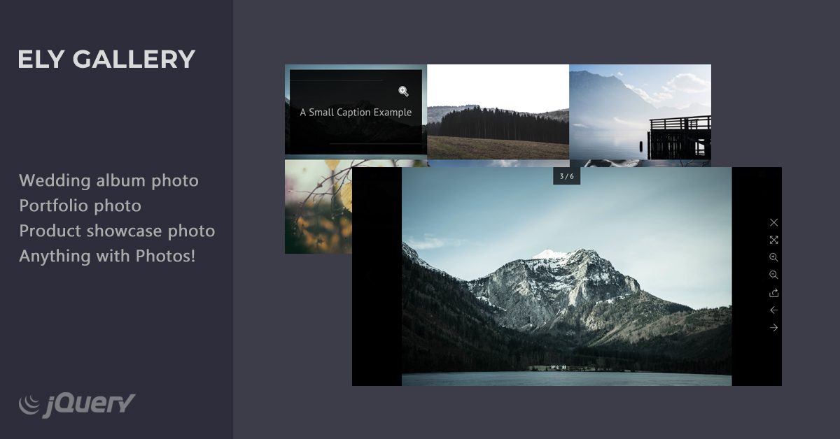 Ely - jQuery Gallery  Plugin