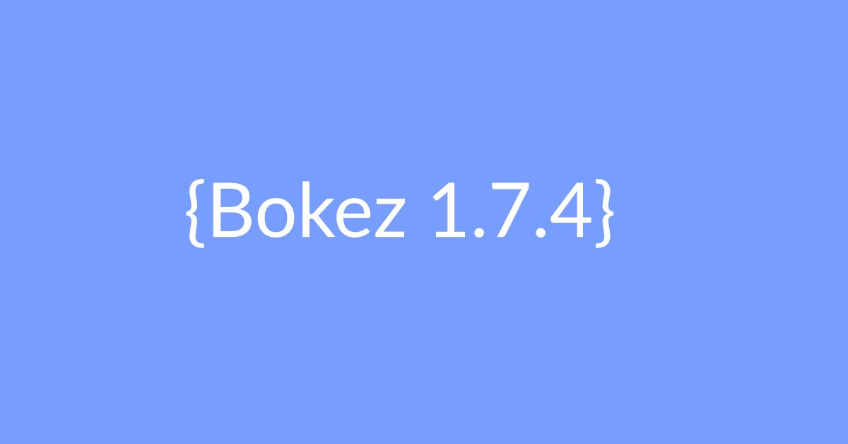 New Update For Bokez 1.7.4